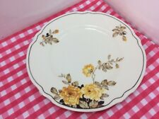 Beautiful J & G Meakin Plate With Yellow Roses