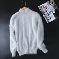 New genuine mink cashmere sweater women pullovers  free shipping  S1871