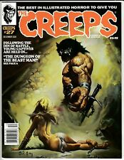 Creeps Magazine #27 Dec 2020 Nm 9.4 (Unread) Warrant Pubs Ken Kelly Cover