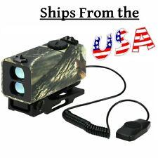 Mini Laser Hunting Range Finder Tactical Rifle Scope 700M Distance Speed Meter