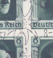 Deutsches Reich 1937 - Block 8 gestempelt Sonderstempel - Michel 30,00 € (570)