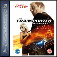 THE TRANSPORTER REFUELLED -  Ed Skrein & Loan Chabanol  *BRAND NEW DVD***