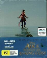 Alice Through The Looking Glass Disney Steelbook Limited Edition Blu Ray