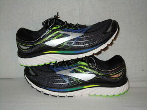 Brooks Glycerin 15 Black/Electric Brooks Blue/Green Gecko MEN'S 13 D
