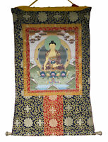 Thangka Tibetano Budda Shakyamuni Appeso Tangka Buddista 102x81cm 26560