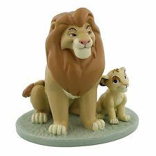 Lion King Mufasa & Simba My Daddy is King Lion King Keepsake Figurine