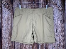 The North Face Khaki Beige Women's Size 10 Hiking Outdoor Shorts