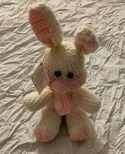 Ganz Birthstone Plush Crocheted Bunny Rabbit June Alexandrite New w/ Tag Vintage