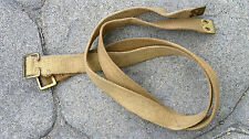 WW2 PATT 37 ACCESORY STRAPS (PAIR) for LARGE PACK USED CONDITION - CANADIAN MADE