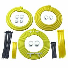 VW Golf GTI Mk 2 1800 16V Yellow Engine Bay Silicone Hose Car / Dress Up Kit