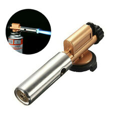 1x Flame Lighter Jet Torch Butane Gas Blow Burner Welding Solder For BBQ,camping