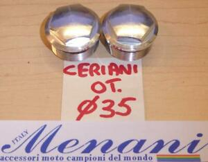 Ceriani fork tube alloy nuts with 31.1mm OD X 13mm long X 1.25mm threads 0096=A