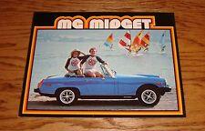 Original 1979 MG Midget Sales Brochure 79