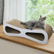 New listing Cat Scratcher Lounge Post Furniture Play Rest Sleep Cardboard with Catnip Toys