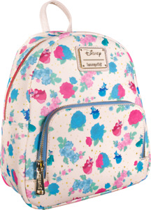Disney Sleeping Beauty Floral Fairy Godmothers Mini Backpack by Loungefly - New,