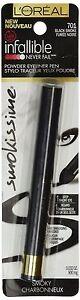 L'Oreal Infallible Never Fail Smokissime Powder Eyeliner Pen ~ 701, 702, 703 704