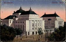 Tallinn Reval Estland Vintage Postcard Eesti Teater Theater 1919 nach Vändra