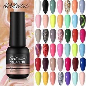 NAILWIND 8ml Nail Polish Strips Soak Buy Matching UV Lacquer Soak Muliti Color