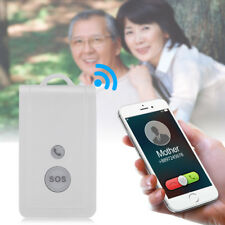 GSM SIM Card Elderly Mobile Phone SOS Emergency Call Alarm System Panic Button D