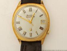 Vintage Accutron 218D Running Tuning Fork Wristwatch 2662 1974 N4