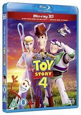 Toy Story 4 [3D + 2D Blu-ray Region Free Movie Buzz Lightyear Allen Hanks] New