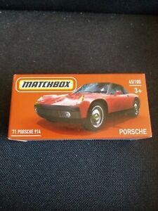 NEW 2021MATCHBOX 1971 '71 RED PORSCHE 914