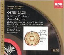 Offenbach: Les Contes d' Hoffmann by J. Offenbach, Andre Cluytens, Gedda, Victo