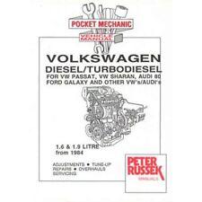 VW 1.6/1.9 diesel/turbodiesel engine manual 1984 on