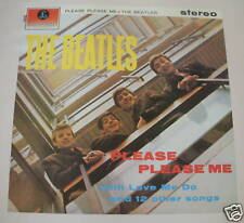 "VINTAGE THE BEATLES PRINT ""PLEASE PLEASE ME"" 1963 36"" X  24"" PRINT 1987"