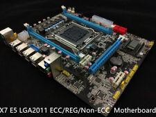 NEW Intel X79 Motherboard LGA 2011 mATX DDR3 or ECC / REG USB 3.0 WiFi OC