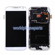 For Samsung Galaxy S4 i9505 LCD Display Digitizer Touch Screen with Frame White