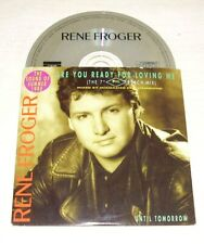 RENE FROGER Are You Ready For Loving Me CD Single 1990 3trk PWL
