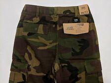 Vans New Nailhead Cargo Pant Loose Fit Straight Leg Youth Boy's Pants Size 26/12