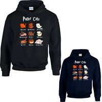 Potter Cats Hoodie, Harry Pawter Cat Fat Cute Lover Halloween Hogwarts Funny Top