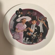 Vintage 1986 Avon Images Of Hollywood Easter Parade Plate-No Box