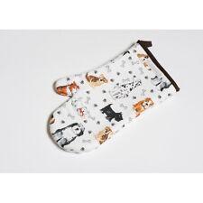 Roy Kirkham Dog Lovers Padded Cotton Oven Glove Mitt Funky Kitchen Gift UK MADE