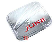 Chrome Red Fuel Tank Oil Cap Cover Fit Nissan Juke 5Door Hatchback 12 13 15 16