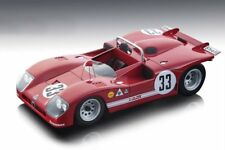ALFA ROMEO T33/3 #33 SEBRING 12HRS 1971 2ND PLACE 1/18 BY TECNOMODEL TM18-50D