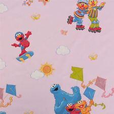 Licensed Disney Cartoon Marvel DC Comic Character 100 Cotton Curtain Fabric Sesame St