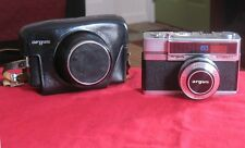Vintage Argus 35mm Automatic Camera with Lens Cap & Leather Case Very Clean!