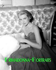 GRACE KELLY 8X10 Lab Photo 1954 High Fashion, Youthful Elegance Portrait
