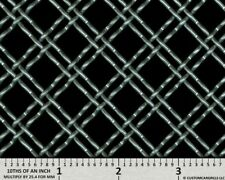 """CCG UNIVERSAL 6"""" x 36"""" - 0.50"""" ALUMINUM DOUBLE WOVEN WIRE XXL GRILL GRILLE MESH"""