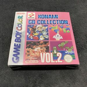 Nintendo Game Boy Color Konami GB Collection Vol.2 EUR Excellent état