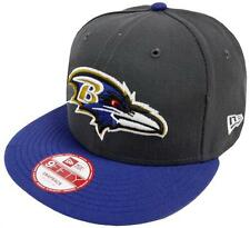 New Era NFL Baltimore Ravens Graphite Snapback Cap S M 9fifty Limited Edition