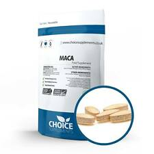 Maca Root Extract 500mg Tablets for Energy Fitness Stamina Fertility PMT x 14
