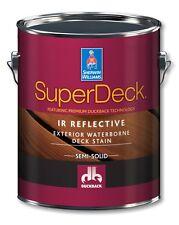 Lot of 15 Sherwin Williams Super Deck DuckBack Deck Stain SW3511 Cedar Bark