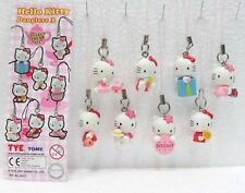 HELLO KITTY-SERIE HELLO KITTY DANGLERS 3-8 FIGURE CON CARTINA-TOMY SANRIO 2007