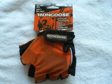 Mongoose Bike Bicycle Cycling Gloves Half Finger Breathable Mesh Nonslip Mg75668