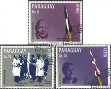 Paraguay 3604-3606 (kompl.Ausg.) gestempelt 1983 Deutsche Raketentechnik EUR 2,5