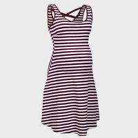 New Look Maternity Stripe Cotton Short Sun Summer Holiday Dress Nightwear Pyjama